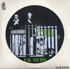 EP UK Subs - C.I.D