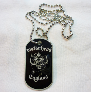 Přívěšek Motorhead - Dog Tag