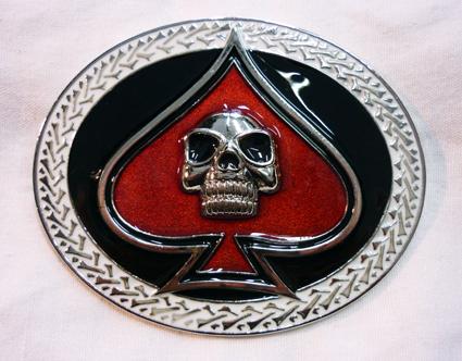 Přezka Skull N Spade