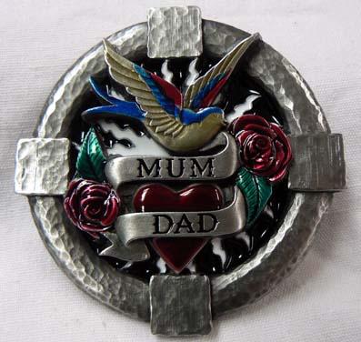 Přezka Tanside - Mum / Dad