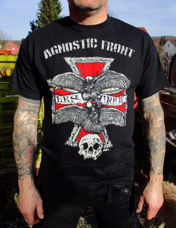 Tričko Agnostic Front - Les Crew