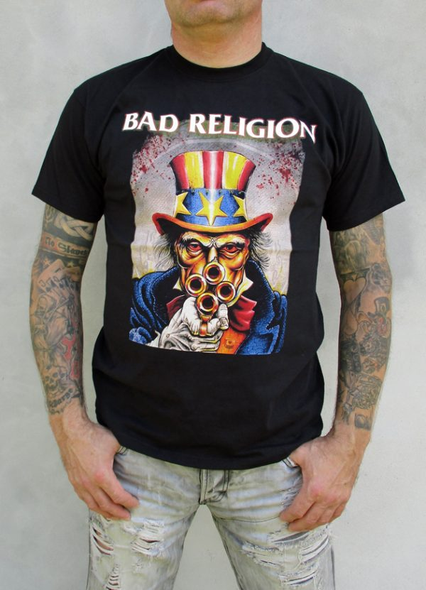Tričko Bad Religion - Uncle Sam