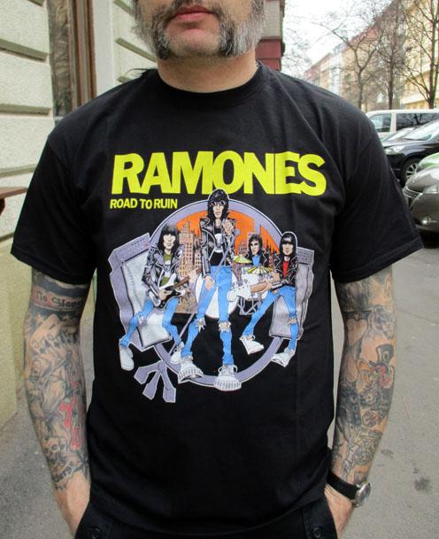 Tričko Ramones - Road to ruin