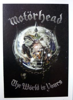 Vlajka Motorhead - World