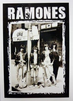 Vlajka Ramones - CBGB
