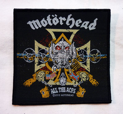 nášivka Motorhead - all the aces