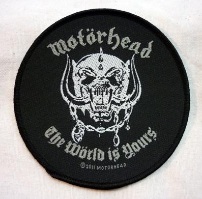 nášivka Motorhead - world